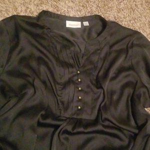 Avenue black blouse